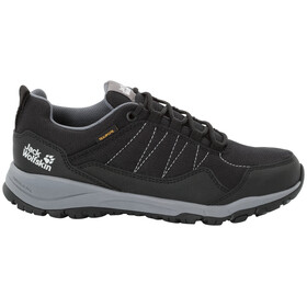 Jack Wolfskin Maze Texapore Low Schuhe Damen black/grey